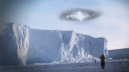 Expedición científica descubre un Portal Dimensional en la Antártida
