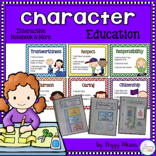 This is a great unit that will help you develop a safe, caring classroom community. Students will learn empathy as they learn about each of these character qualities and will be totally engaged as they learn how to develop strong character. Each lesson is packed with colorful visuals, literature connections, cooperative learning, and the much loved Interactive Notebook activities to personalize the lesson for each child!