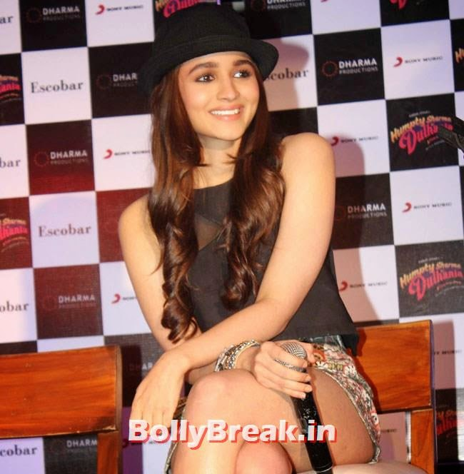 Alia Bhatt, Alia Bhatt Pics with Cap & in Short Skirt