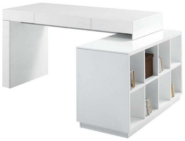 best buy modern white office furniture Ireland for sale online