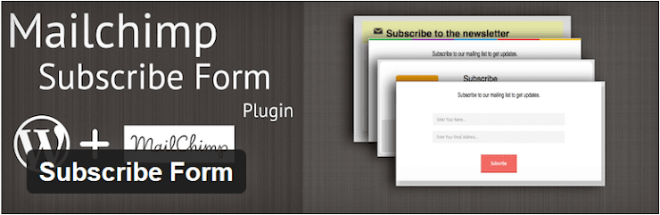 Subscribe form plugin for WordPress