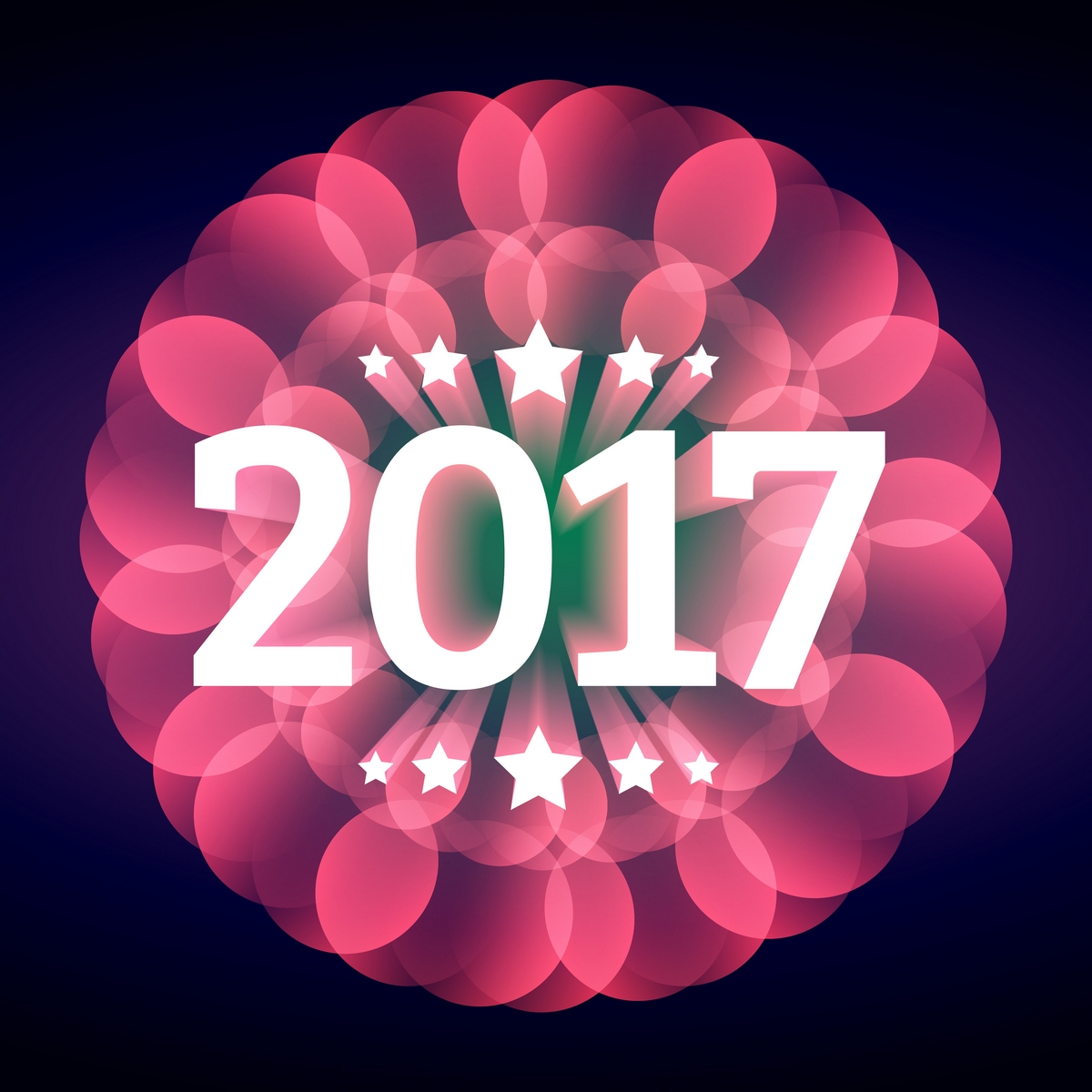 Free Download Happy New Year 2017 HD Wallpapers