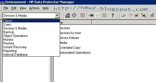 Step by Step Backup And Restore Using HP Data Protector