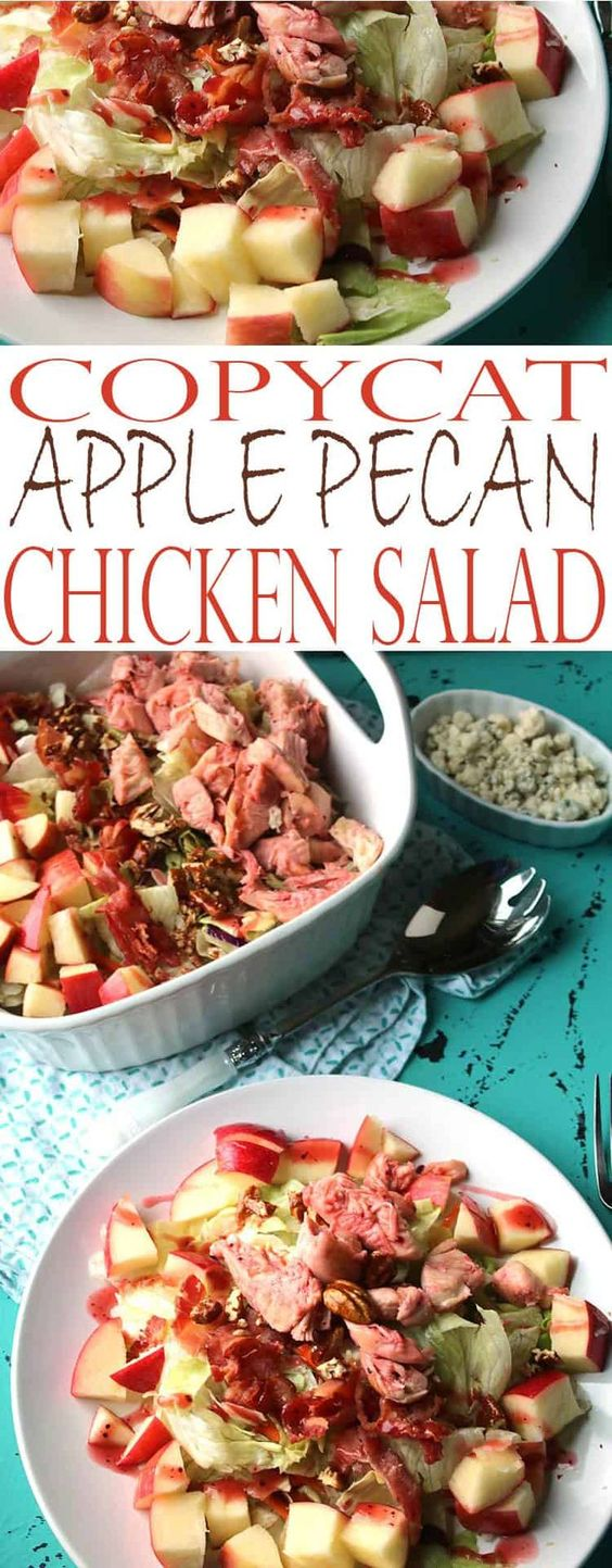 Apple Pecan Chicken Salad - Cracker Barrel Copycat