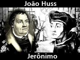 Imagens dos Mártires: João Huss e Jerônimo