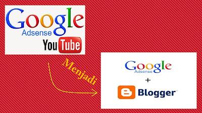 Cara Agar Akun Adsense Youtube Bisa Digunakan Di Blog/Situs
