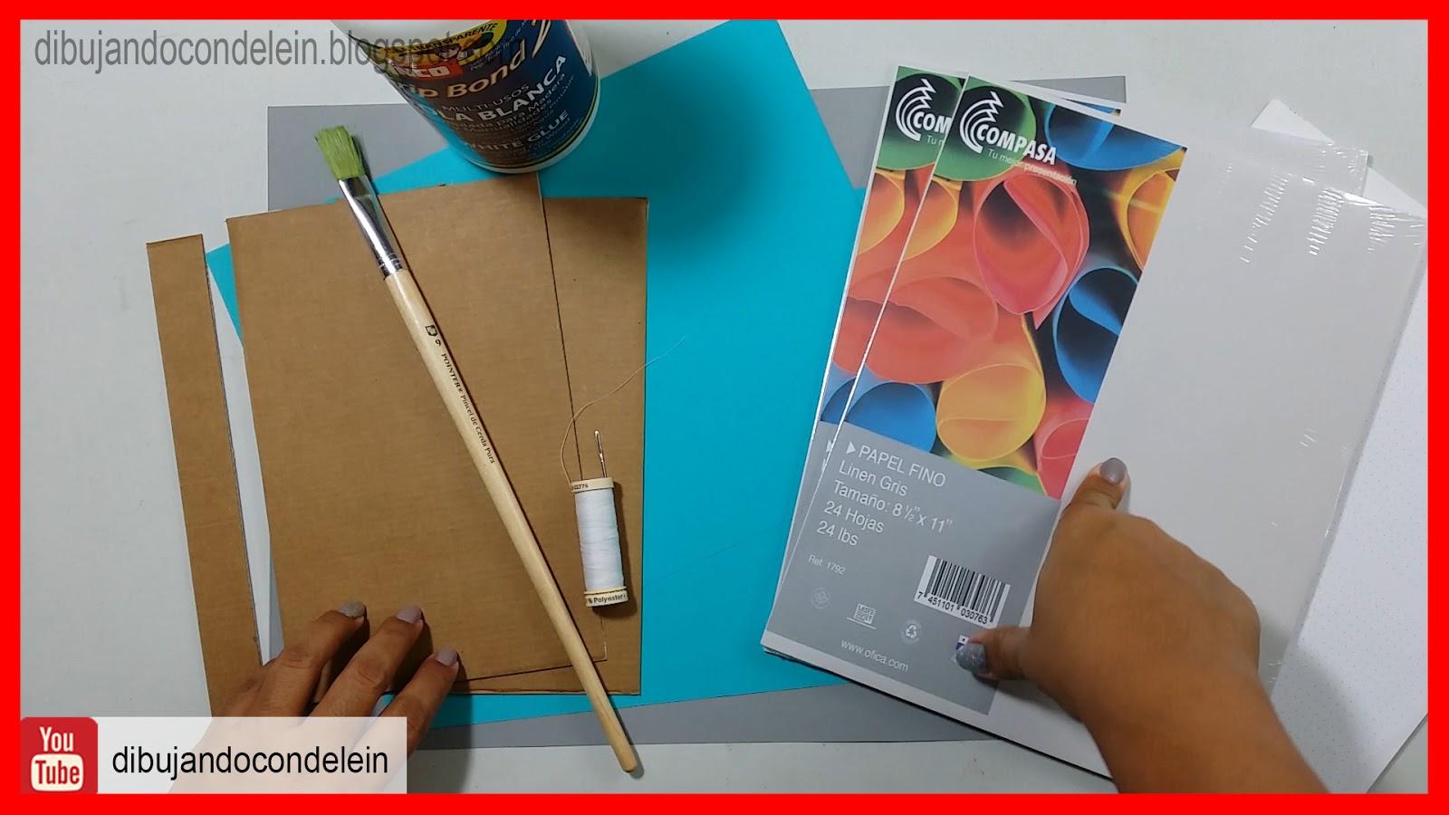 Dibujando Con Delein Como Hacer Una Libreta De Dibujo