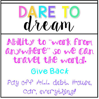 Dare to Dream TPT Seller Challenge Week 2