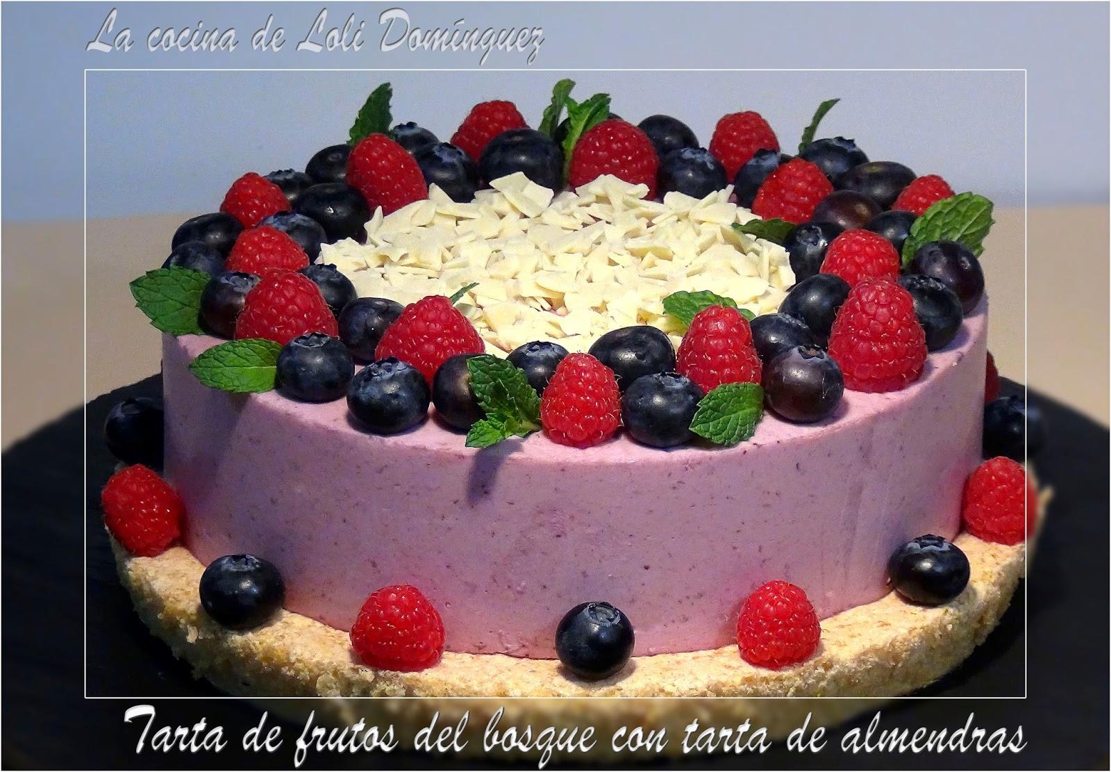 La cocina de loli dom nguez tarta de frutos del bosque - La cocina del 9 ...