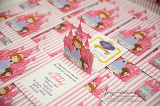 sofia the first invites