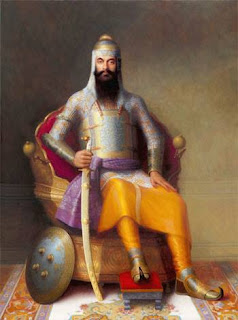 Ranjith singh had his first taste of battle when he was only ten years old. His fame grew in 1797,at a young age of 17,when the Afghan muslim ruler Shah Zaman, of the Ahmad Shah Abdali dynasty, attempted to annex Punjab region into his control through his general Shahanchi khan and 12,000 soldiers.