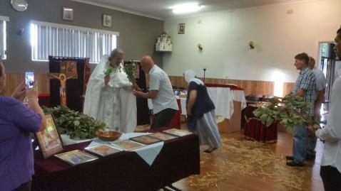 Рождественские службы в Сиднее (Австралия, ИПЦ Греции)