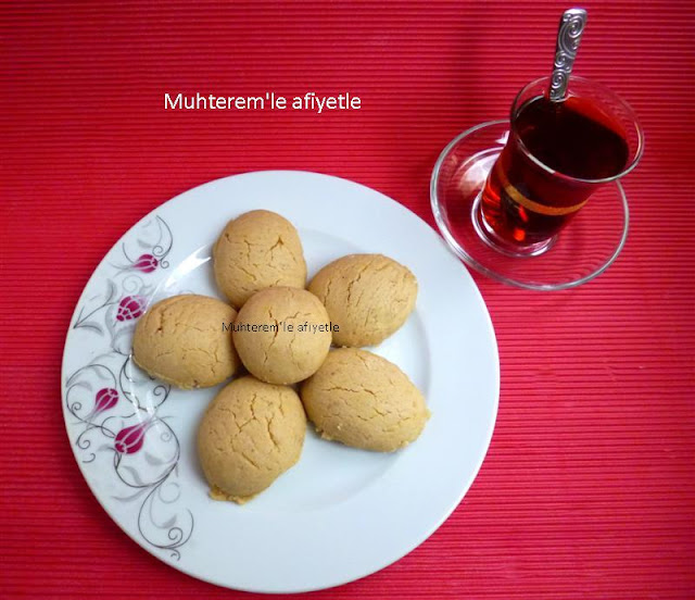 pratik tahinli kurabiye