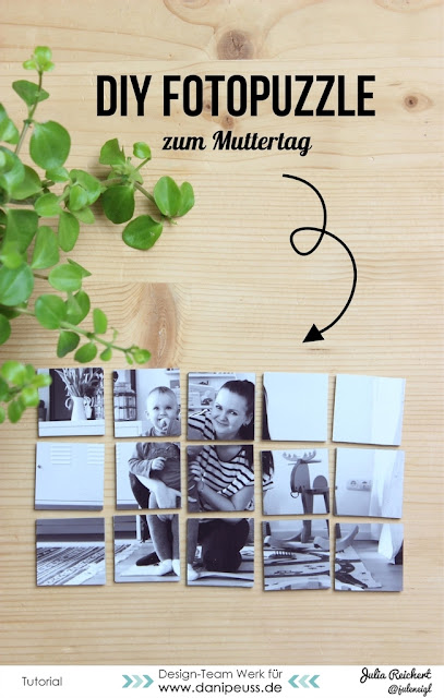 blog ideen zum muttertag diy fotopuzzle. Black Bedroom Furniture Sets. Home Design Ideas