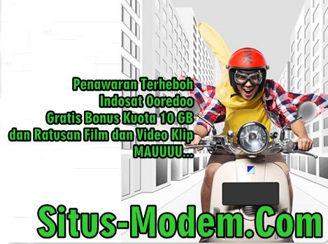 Promo Indosat Ooredoo Terbaru : Bonus Internet 10 GB di Jaringan 4G-LTE dan Ratusan Film dan Klip
