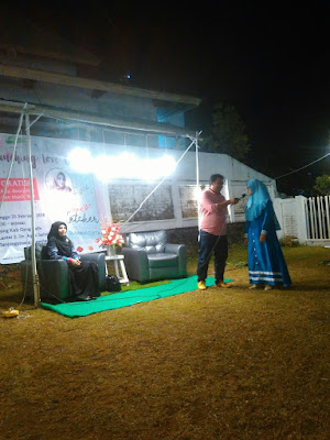 blogger tanjungpinang di acara launching buku