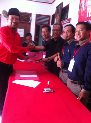 Santoso Bekti Wibowo, Kader Partai di Bursa Calon Wawalikota PDI Perjuangan
