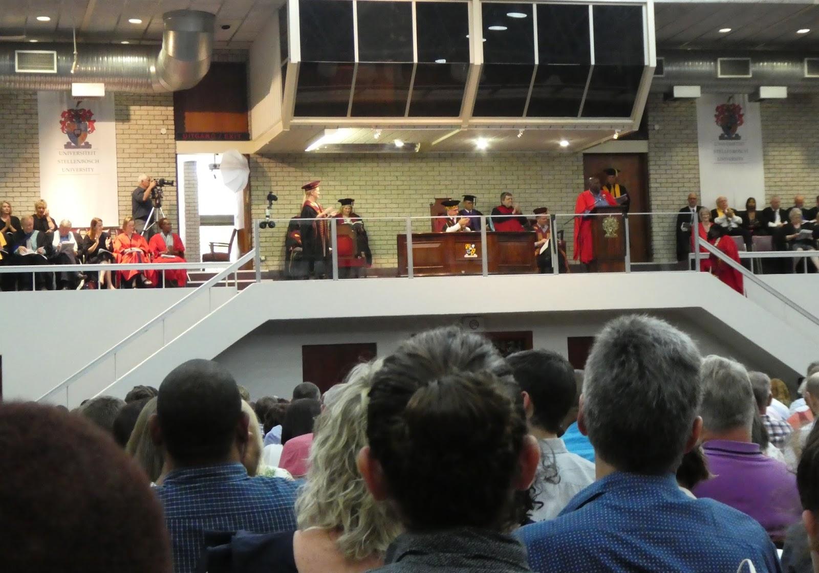 WEBS OF SIGNIFICANCE: Stellenbosch University graduation