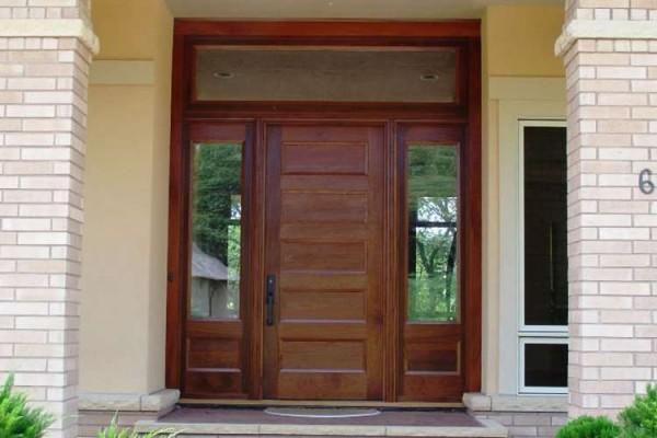 43 Pintu Rumah Bahan Hpl Inspirasi Baru!