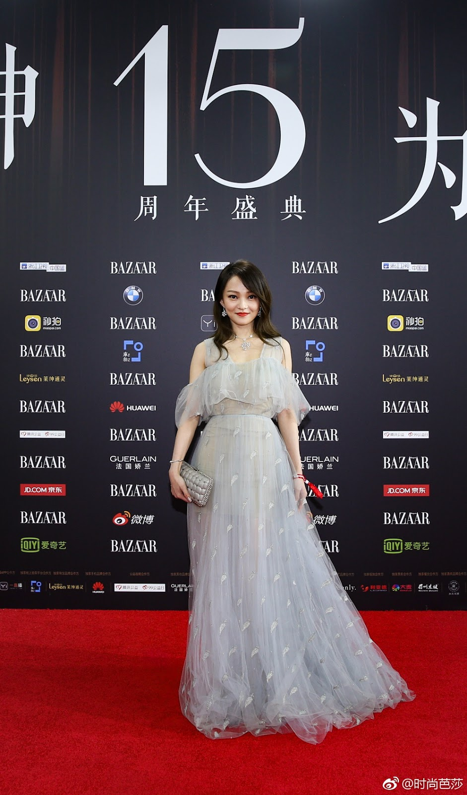 Angela Zhang Red Carpet