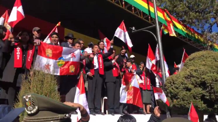 Dirigente de COMCIPO tomaron la testera ante ausencia de oficialistas / CAPTURA DEL VIDEO DE SAMY SCHWARTZ