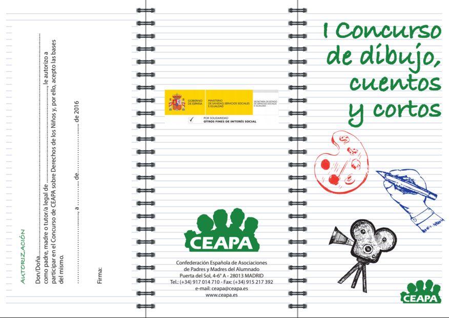Ampa Las Graduadas Concurso De Dibujos Cuentos Y Cortos
