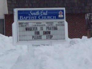 funny church sign win south end baptist church