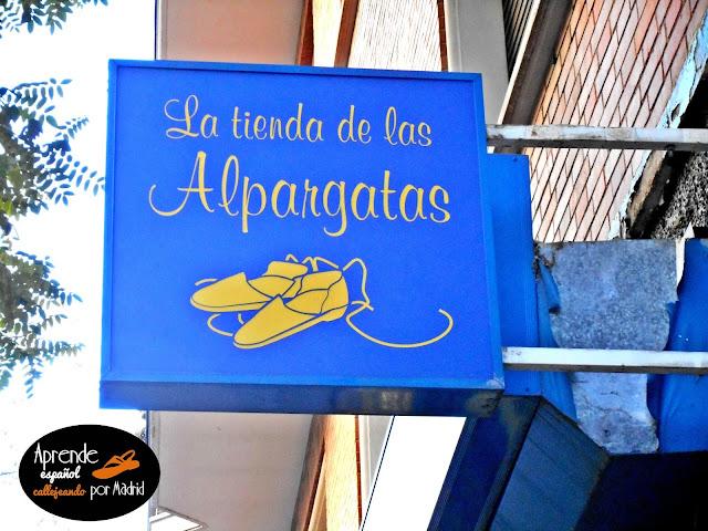 Aprende español callejeando por Madrid: Ponte en mis zapatos