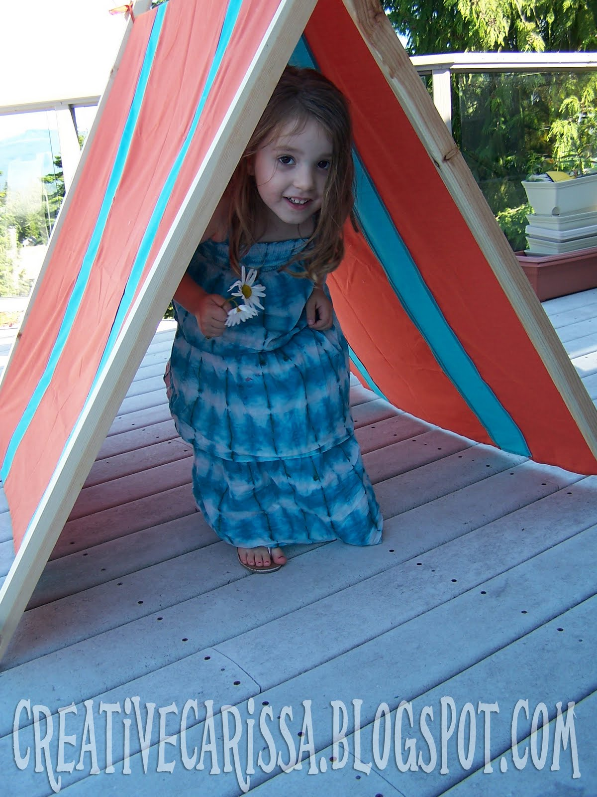 My DIY Kid Play Tent - Creative Green Living