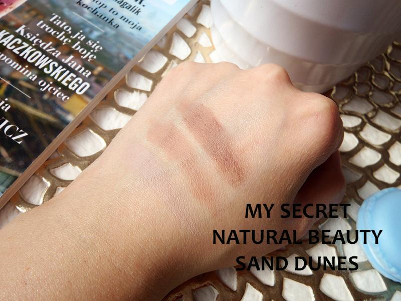 Natural Beauty, cienie do powiek, paletki cieni, cienie z drogerii, cienie do tłustych powiek