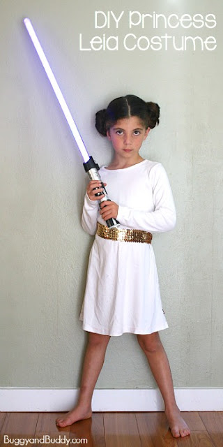 how to make a princess leia costume without sewing