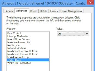 Attansic l1 gigabit ethernet