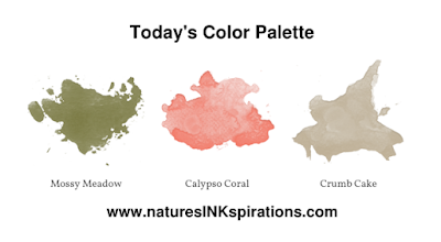 Today's Color Palette for Christmas in July 3rd Thursdays Blog Hop