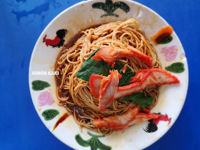 Ah Choy Wan Tan Mee @ Muar Glutton Street 亚才云吞面. 麻坡贪吃街