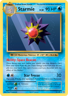 Starmie XY Evolutions Pokemon Card