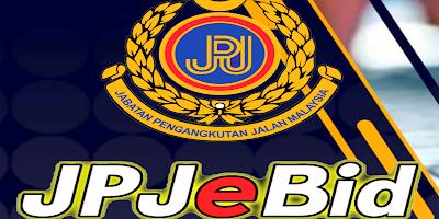Cara Daftar JPJeBid Sistem Bidaan Plat Nombor Kenderaan