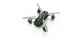 Hubsan H111D FPV Quadcopter Black Top View