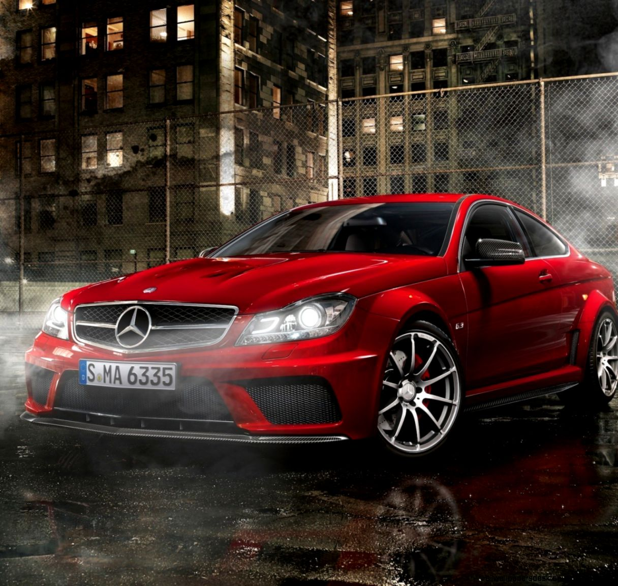 small resolution of  mercedes cls amg hd wallpaper mercedes benz c63 amg night street parking hd wallpaper