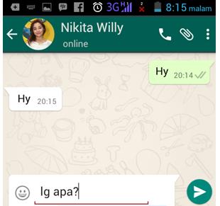 Cara Membuat Percakapan Palsu di WhatsApp / WA