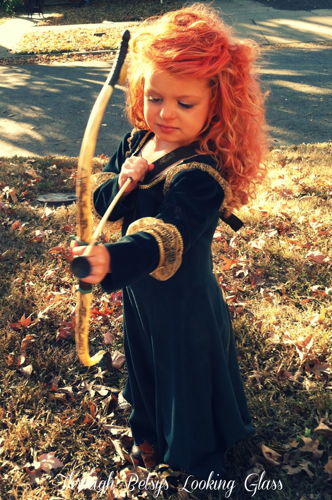 Through the Looking Glass: Merida Costume