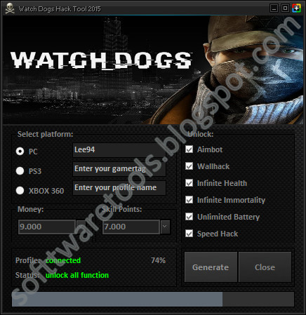 Watch Dog  Cheats Ps
