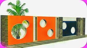 Model Terbaru Pagar Tembok Untuk Rumah Minimalis Gambar 5