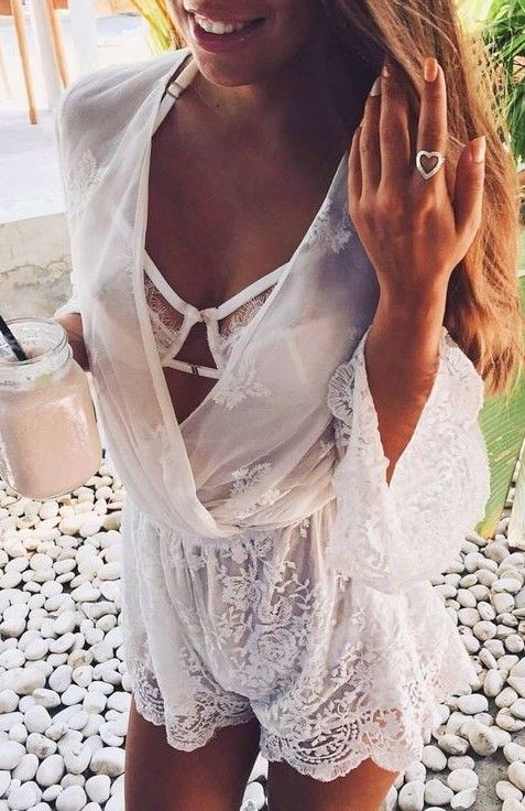 Beautiful Summer And Popular Outfits #summeroutfits