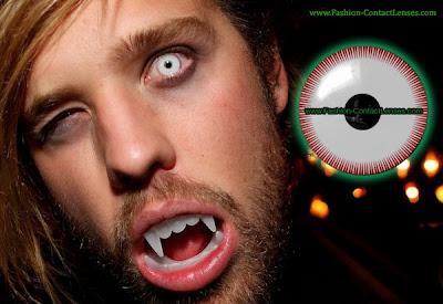 Bezerker Halloween contact lenses