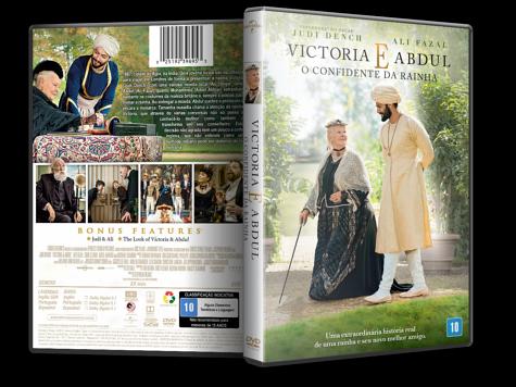 Capa DVD Victoria e Abdul: O confidente da Rainha
