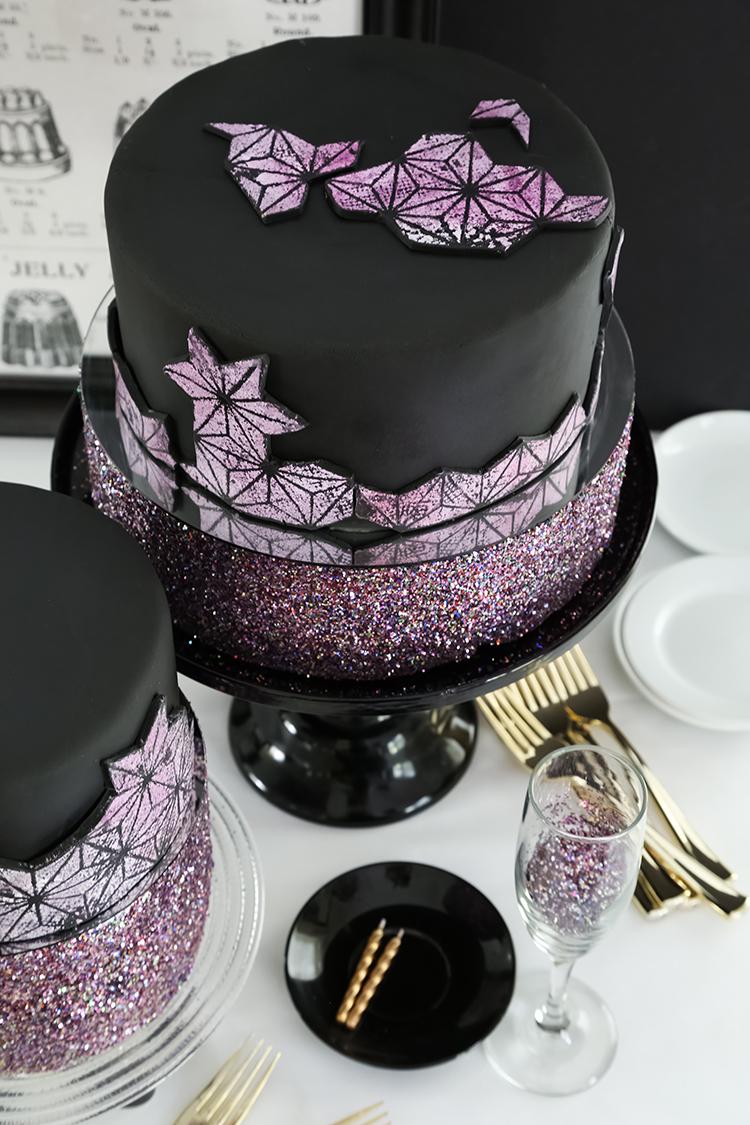 French Vanilla Glitterati Cake Sprinkle Bakes