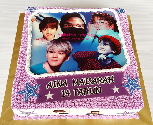 Exo KPOP Birthday Cake