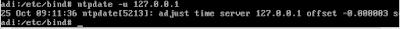 Instalasi  dan Konfigruasi   NTP  Server  Debian  7