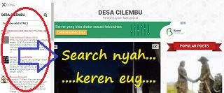 Search Blog DESA CILEMBU