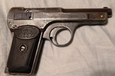 Bernardon-Martin 1907 French Auto Pistol .32 7.65